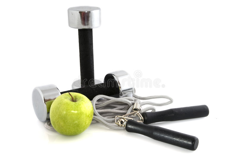 Exercise and diet stock photography