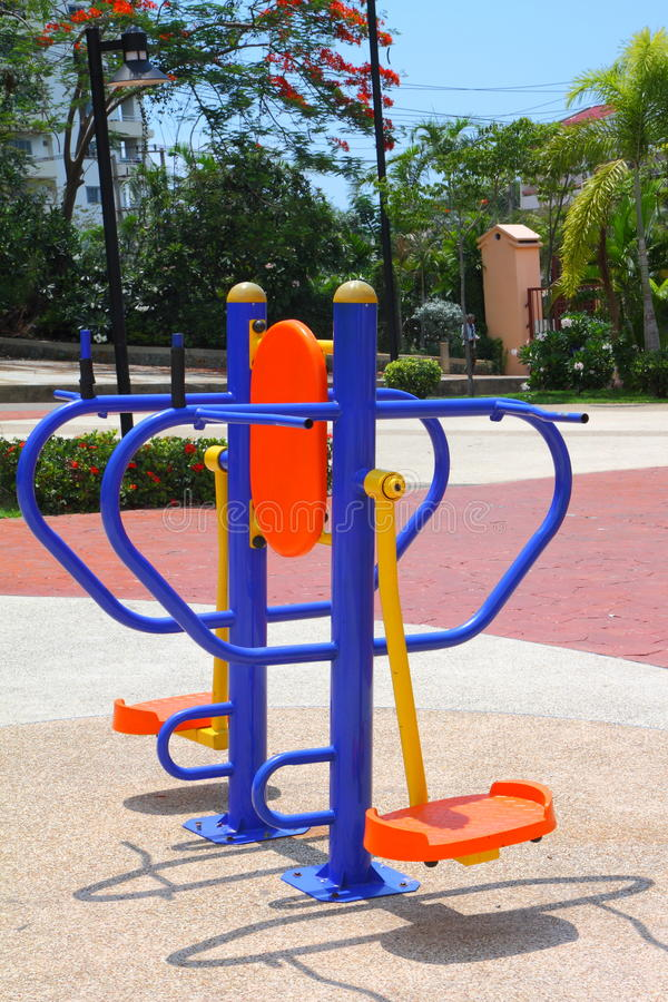 Download Exercise equipment stock photo. Image of grass, equipment - 24993192