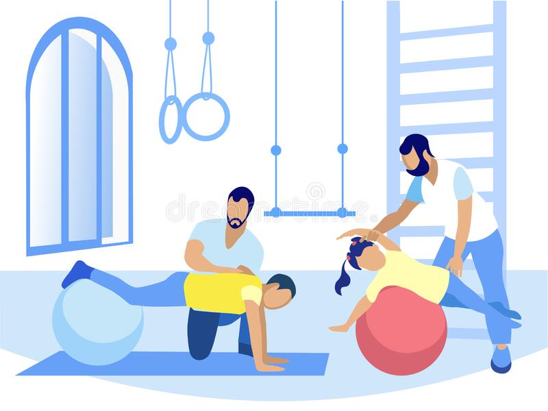 Cartoon Physical Therapy Stock Illustrations – 1,033 Cartoon Physical  Therapy Stock Illustrations, Vectors & Clipart - Dreamstime