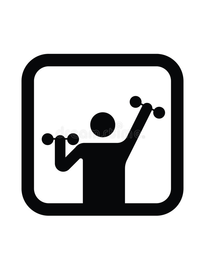 Exercise icon vector illustration