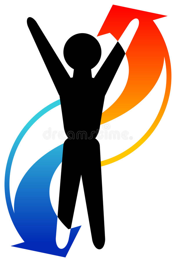 Download Exercise man stock vector. Image of arrow, life, artwork - 17882493