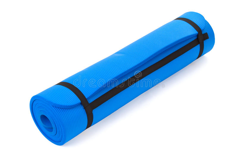 Download Exercise Mat stock photo. Image of physical, object, isolated - 19993642