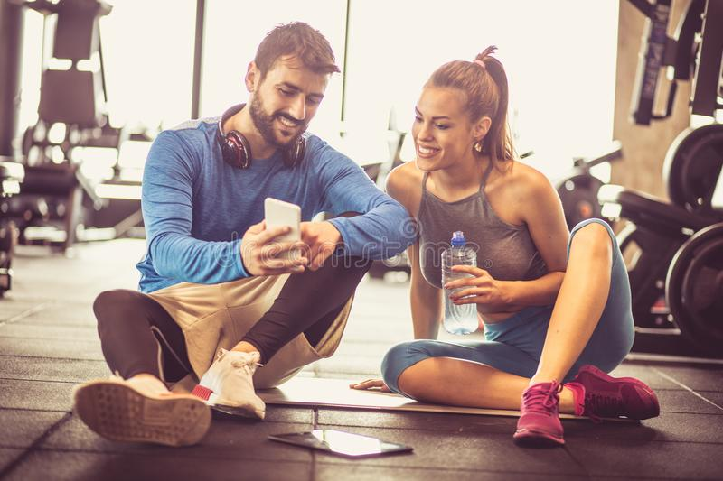 Exercise results. royalty free stock image