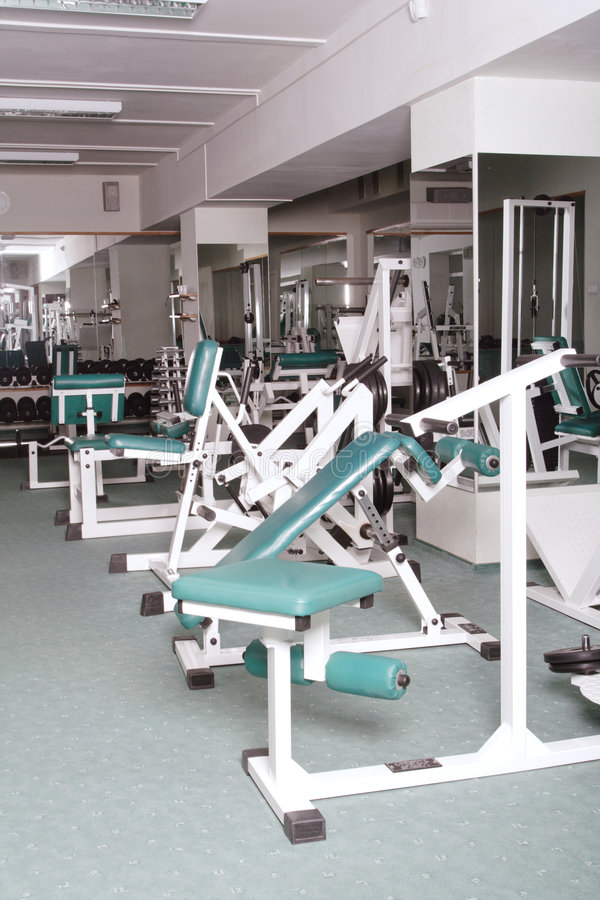 Free Exercise Room And Equipment Royalty Free Stock Photos - 2711228