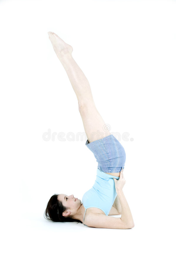 Download Exercises stock photo. Image of young, relax, skinny, dream - 689702