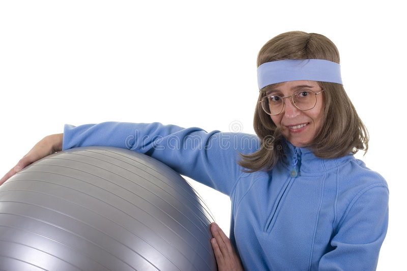 Download Exercises With Ball stock photo. Image of health, lifestyle - 2947464