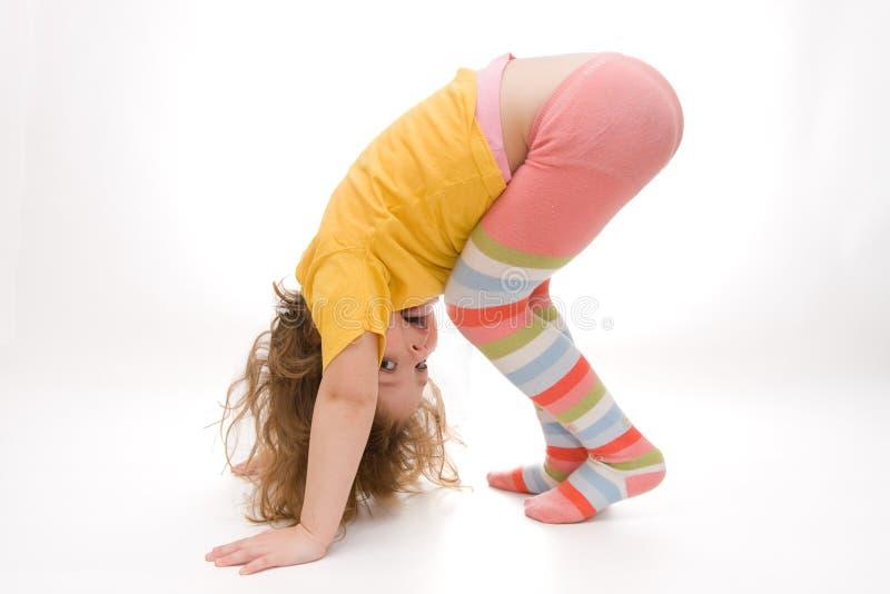 Download Exercising stock photo. Image of exercising, girl, preschooler - 4112280