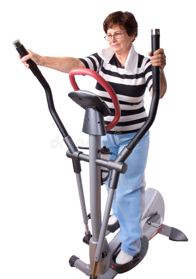 exercising στοκ εικόνες