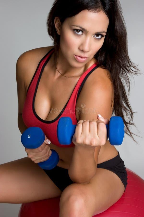Download Exercising Girl stock photo. Image of beautiful, girl - 8346434