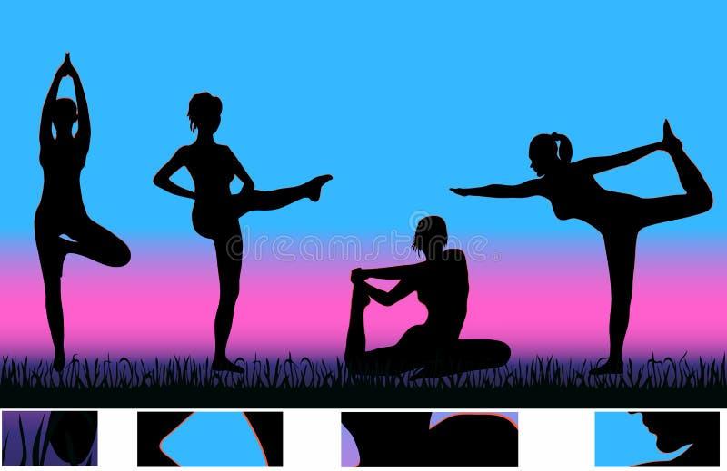 Download Exercising Girls Royalty Free Stock Image - Image: 4318956