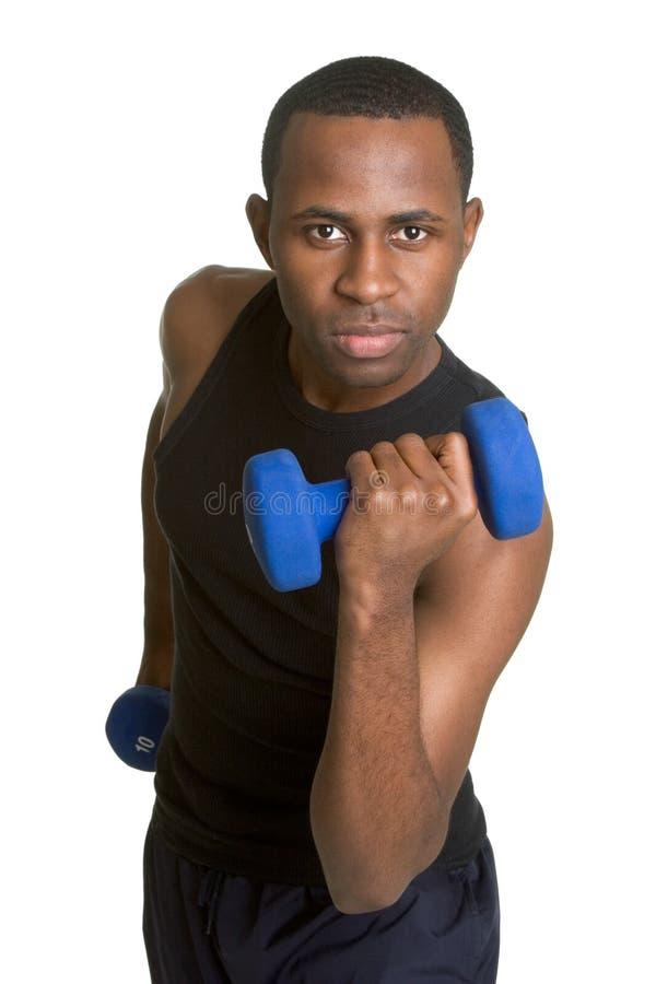 Exercising Man stock photography