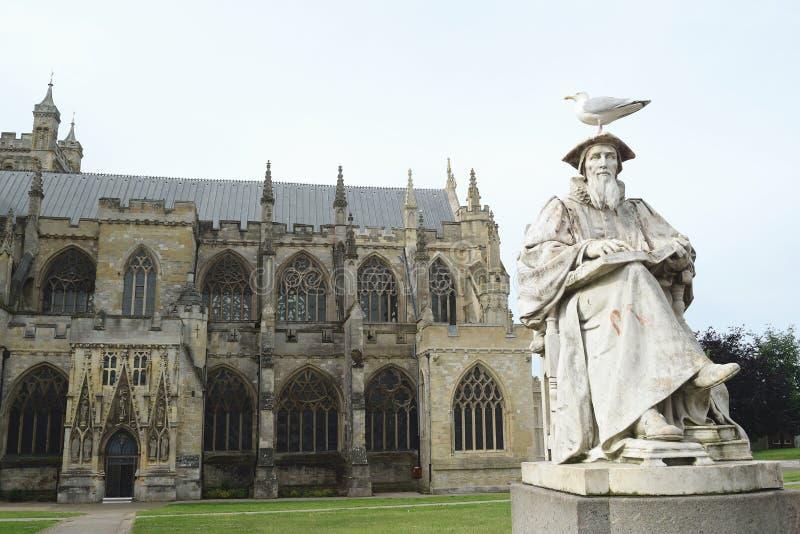 Exeter katedra obraz stock