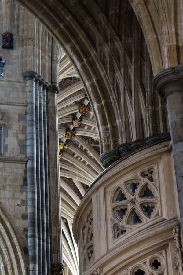Exeter katedra fotografia royalty free