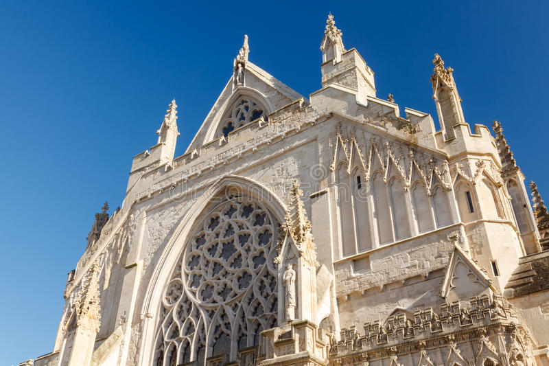 Exeter Katedralny Devon Anglia UK zdjęcie royalty free