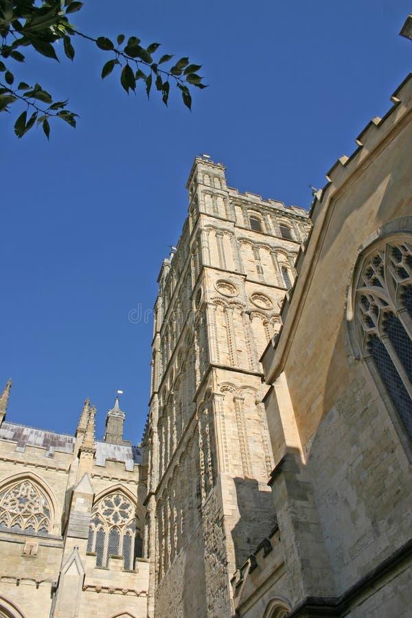 Exeter-Kathedrale lizenzfreies stockbild
