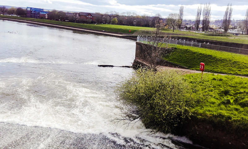 Exeter miasto Vue jest ładny fotografia stock