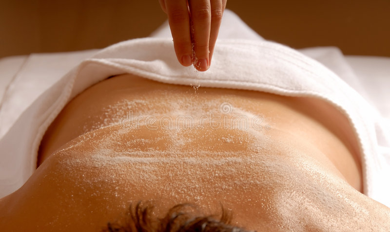 Exfoliation images stock