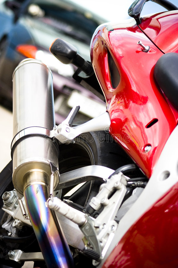 Free Exhaust Pipe Royalty Free Stock Photography - 5519227
