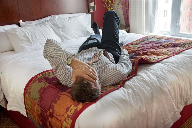 Download Exhausted business man stock photo. Image of down, tired - 6983256