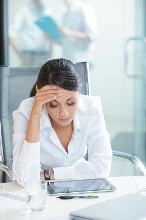 Download Exhausted Businesswoman Stock Photos - Image: 33919913
