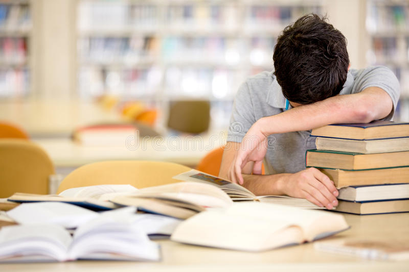 Download Exhausted male student stock image. Image of latinamerican - 27908053