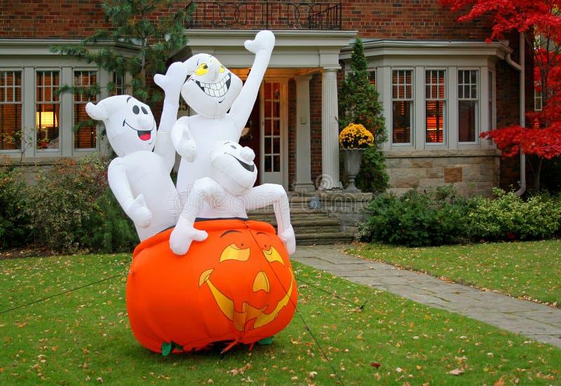 Exhibición de Halloween fotos de archivo