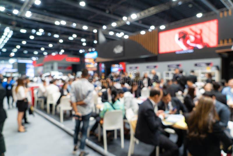 Exhibición de la exposición de la feria de comercio, exposición de convenciones de negocios, feria de trabajo, exposición de tecn fotografía de archivo
