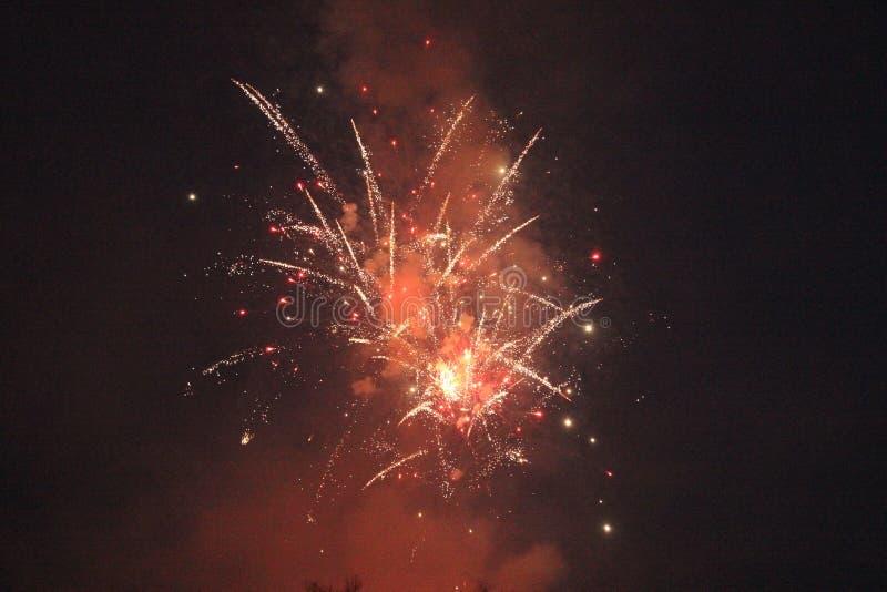Exhibición 4 del fuego artificial foto de archivo libre de regalías
