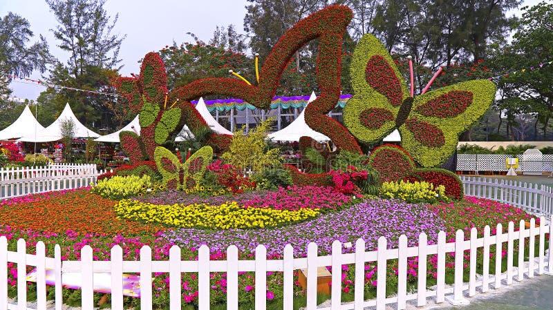 Exhibición floral internacional 2015 de Hong-Kong foto de archivo libre de regalías