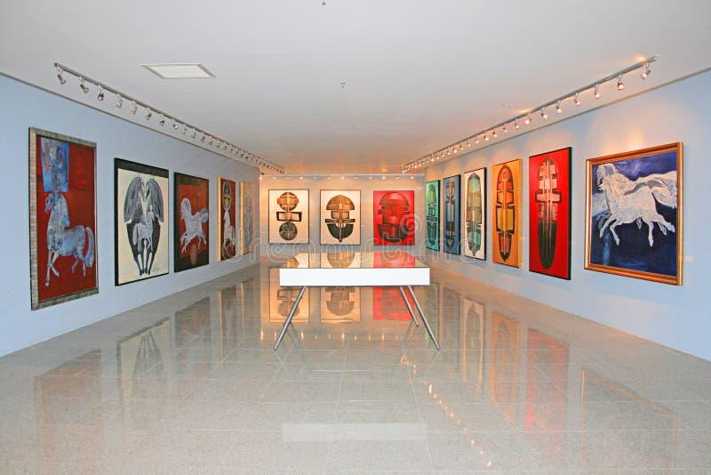 Exhibition Editorial Stock Photo
