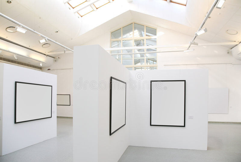Exhibition stock images