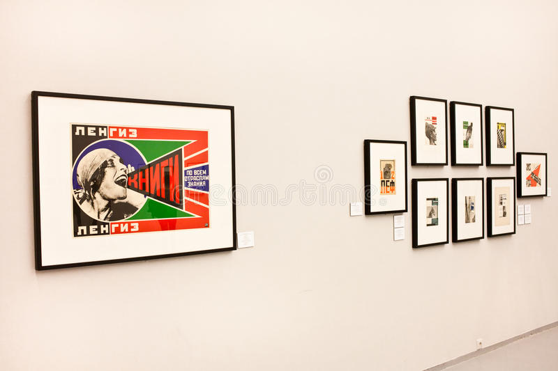 Download At The Exhibition Of Alexander Rodchenko Photography. Moscow House  Of Photography. Editorial Stock