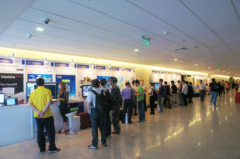 Download Exhibition area editorial image. Image of conference - 24980210