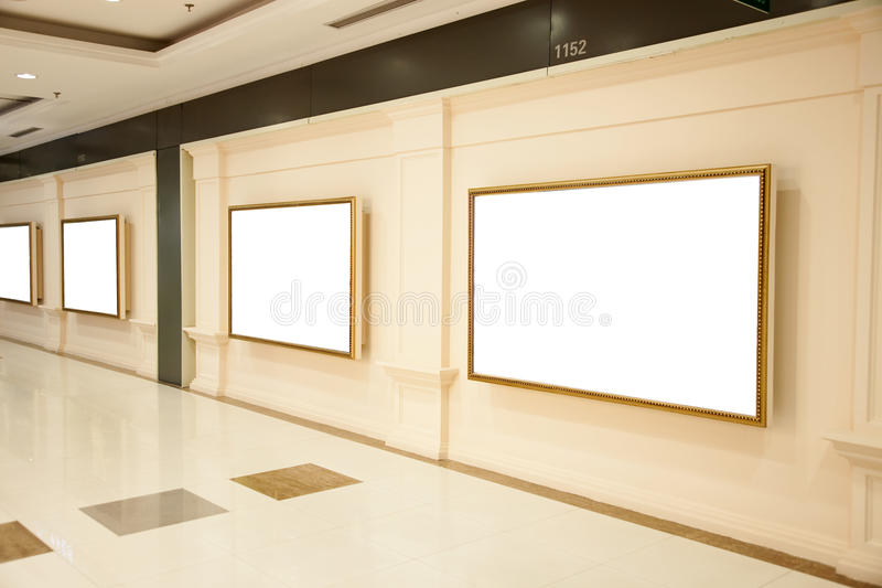 Download Exhibition boards stock image. Image of frame, decorative - 10408063