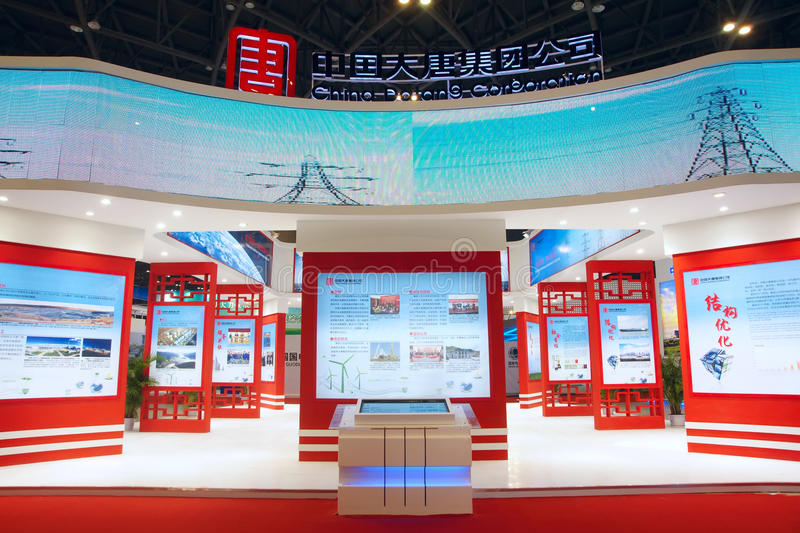 Download Exhibition Booth Editorial Stock Image - Image: 26659344