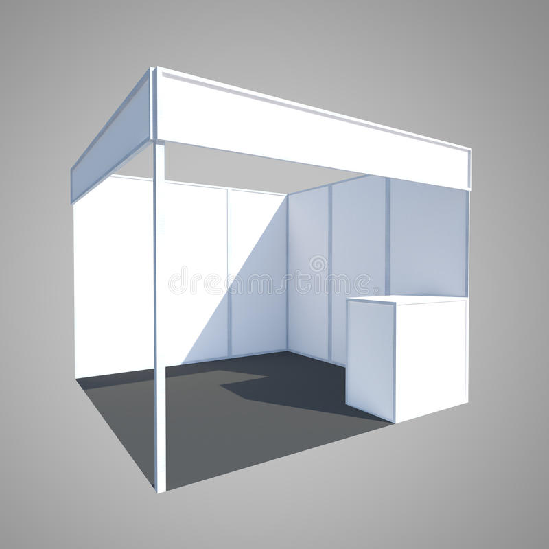 Exhibition Stand Design Illustrator : Exhibition booth display stand fair stock illustration
