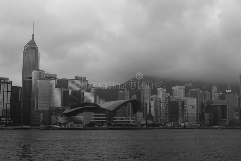 Exhibition center of hong kong city royalty free stock photography