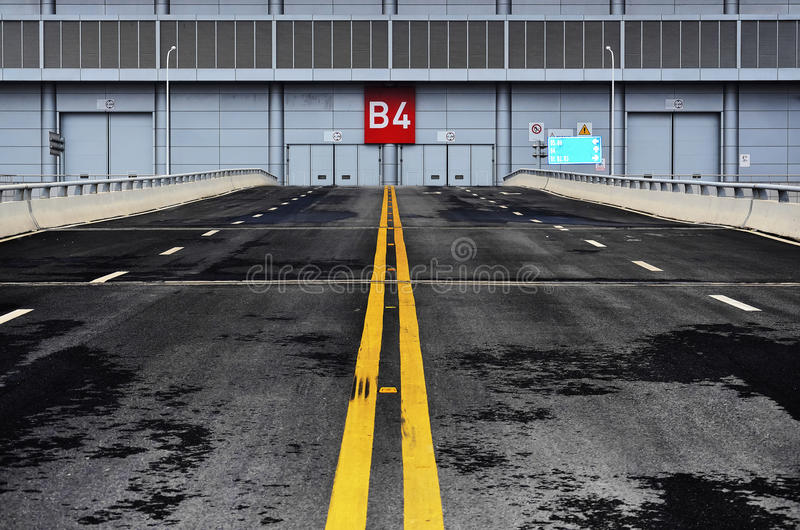 Download Exhibition centre stock photo. Image of road, morden - 27991004