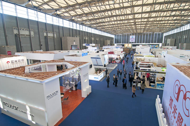Download Exhibition Centre editorial stock image. Image of industrial - 30400854