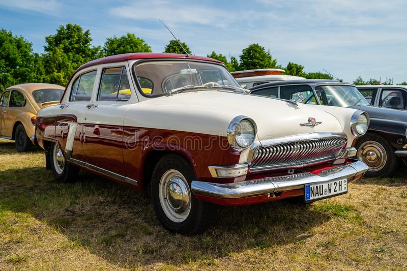 Exhibition `Die Oldtimer Show 2018`. Paaren im Glien. Germany. royalty free stock images
