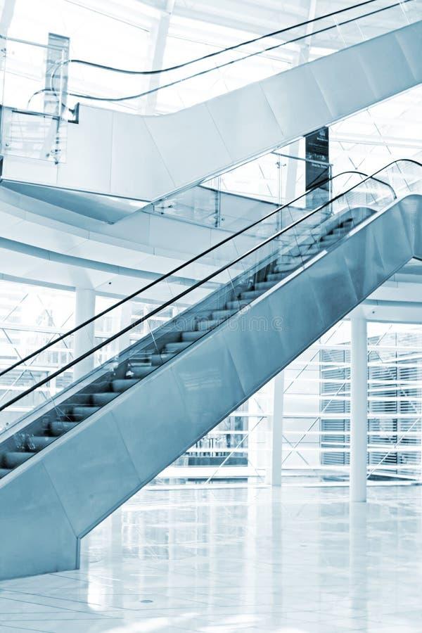 Download Exhibition Escalators stock image. Image of hall, floor - 8309407