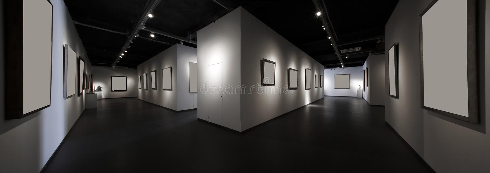 Exhibition Hall Stock Photography