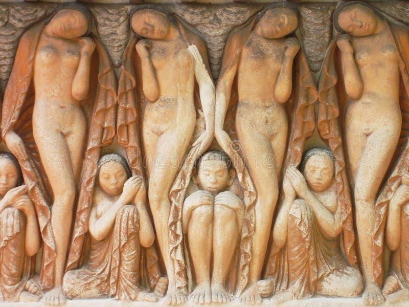 Exhibition Mathildenhöhe darmstadt. Art nouveau mathildenhöhe darmstadt friese stock image
