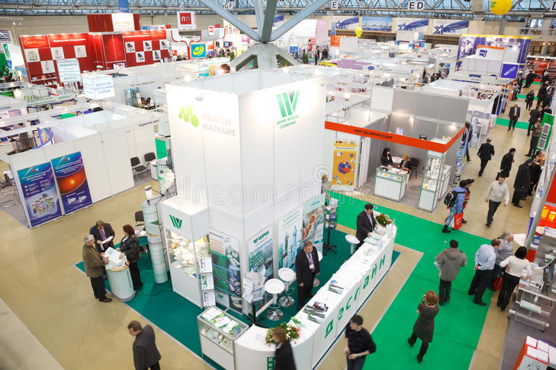 Exhibition Of Medical Technologies In Russia Editorial Image