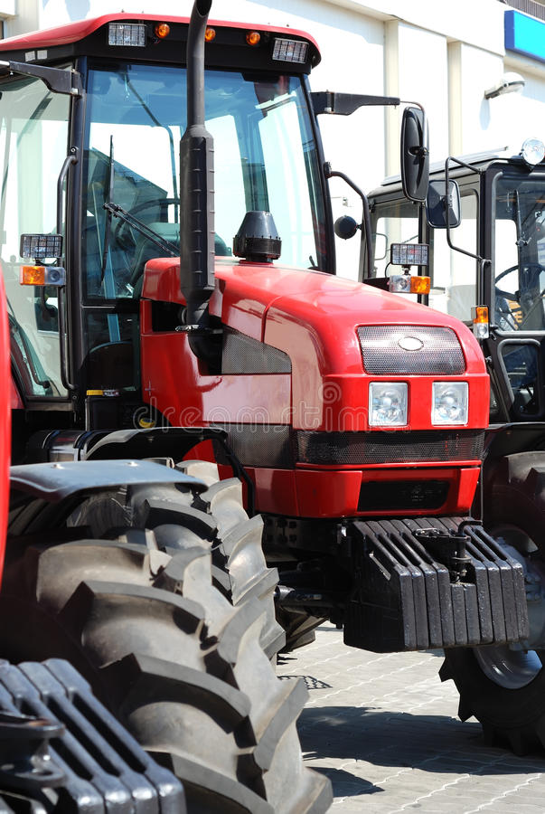 Download Exhibition Of New Tractors For Agriculture Stock Photo - Image: 11467630