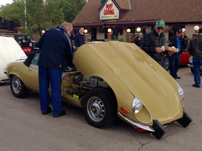Exhibition Of Retro And Old Cars Editorial Image - Image of ...