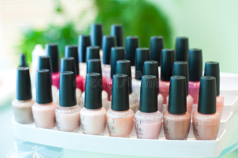 Download Exhibition Showcase Of Nail Stock Image - Image: 19711257