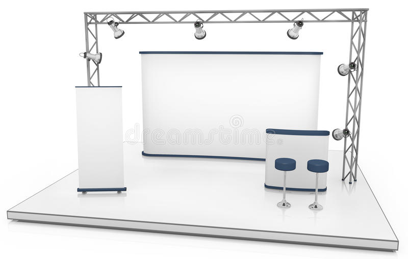 Exhibition Stand Royalty Free Stock Photos