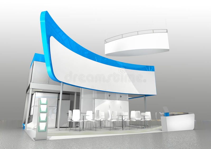 Modern Exhibition Stand Prices : Exhibition stand design stock photo image