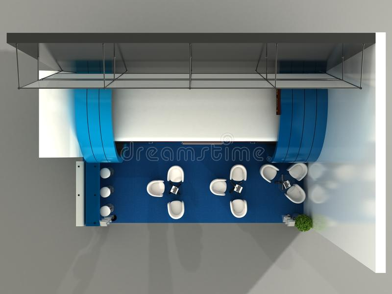 Download Exhibition Stand Interior Sample Stock Image - Image: 26216721